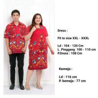 Batik Fosan Classic Oriental Couple Baju Imlek CNY Big Size - 2771 GFI