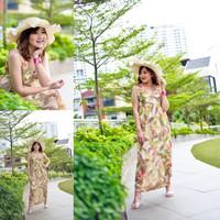 castil*an summer maxi summer long dress