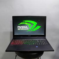 Laptop Gaming Spek Dewa MSI GP63 Leopard i7 GTX 1060 6GB 16/128/1000