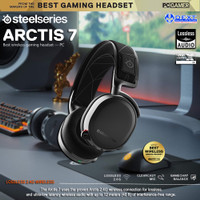 SteelSeries Arctis 7 with 7.1 DTS Headphone:X Black Wireless