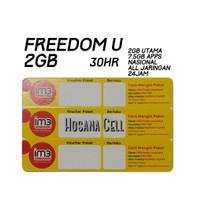 Voucher Paket Data Indosat 2GB UNL