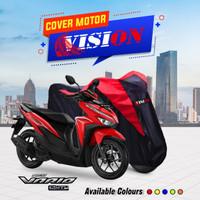 Cover motor Sarung motor Vario 150/125 Honda Merah - Merah