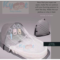 Kyoot Baby's Collection | | Kasur traveling baby | Tas kasur baby