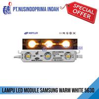 Lampu LED Module Samsung Warm White 5630