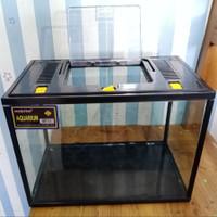 Aquarium tri set nikita S + tutup / aquarium acrylic- hamster - reptil