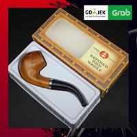 ORIGINAL AKSESORIS PIPA RROKOKOKK - Chung Feng Bakelite Resin Wood - Brown