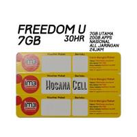 Voucher Paket Data Indosat 7GB UNL