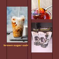 Premium Brown Sugar Sirup / Gula Jawa Merah Cair 1kg