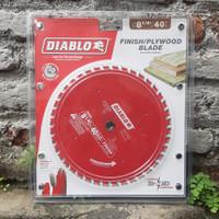 Mata gergaji Freud Diablo D0840X 8 Inch 40T ATB Fine Finish