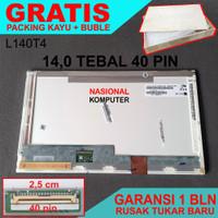 Layar LCD LED Laptop Toshiba Satellite L510 C600 C600D C640 C640D C645