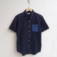 SS Shirt Global Work Pocket - Navy