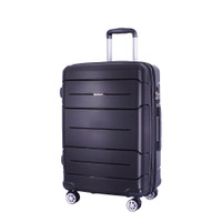 Luminox Tas Koper Hardcase Fiber - PP - GGHJ Size 28 Inch Kunci TSA