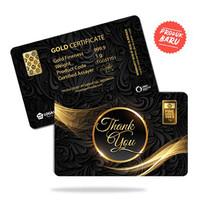 Emas Antam 1 Gram Gift Series - Gift Card Thank You