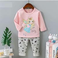 Piyama import / Baju tidur anak perempuan umur 1 - 10 tahun motif Peri