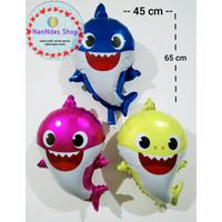 Balon foil Baby Shark Pink fong /Balon karakter Baby Shark