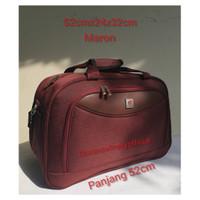 Tas Pakaian Travel Bag Polo Interclub 52x24x32cm ukuran sedang 100%ori