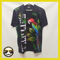 Baju Kaos Pria Bangkok Drifit Printing Import Thailand Tropical - L