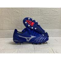 Sepatu Bola Mizuno Morelia Neo III Beta Reflex Blue / White FG Replika