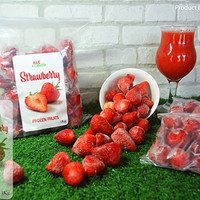 Strawberry Frozen fruit ( buah beku stoberi )