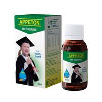 Appeton Taurine Syrup 60ml (Multivitamin Anak)sirup apeton appetton