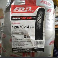 BAN TUBELESS FDR 120/70-14 SPORTXR evo untuk Pcx / all matic