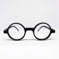 Frame Kacamata Bulat Boboho John Lennon Lensa Normal