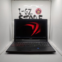 Laptop Gaming MSI Leopard GP63 2019 i7 GTX 1060 6GB 8/256 SSD Mulus
