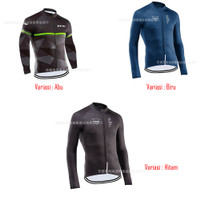 Baju Jersey Cycling Sepeda Lengan Panjang Import NW Pria Premium I