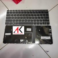 Keyboard HP EliteBook 725 G3 725 G4 820 G3 820 G4 tanpa lampu latar