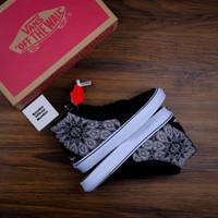 Sepatu Mastodon x Vans SK8 HI 'Blade Catcher' Black Grey Charcoal BNIB