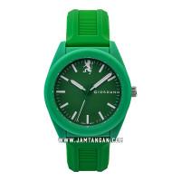 Giordano GD-1126-06 Men Green Dial Green Rubber Strap