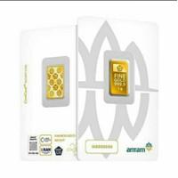 3 GRAM EMAS LOGAM MULIA ANTAM/EMAS ANTAM/EMAS BATANGAN/GOLD BAR