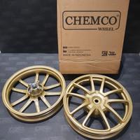 Velg Chemco Evo Beat / Scoopy / Vario 110 Gold Matte Ring 14 1set