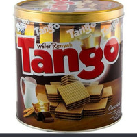 Tango wafer chocolate can 350 gr