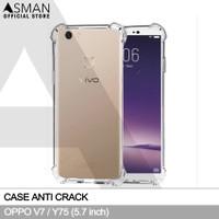 Softcase Anti crack Casing for Vivo V7 - Clear