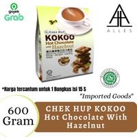 Chek Hup Kokoo Hot Chocolate & Hazelnut /Susu Coklat 600 gram