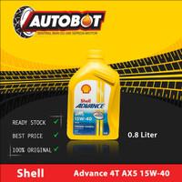Oli Motor Shell Advance 4T AX5 15W-40 ( 0,8L )