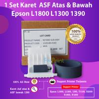 Karet Roller Epson L1800 L1300 Pick Up Roll Printer 1390 T1100 R1390