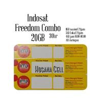 Voucher Paket Data Indosat Freedom 20GB