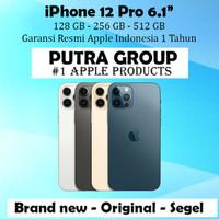 (IBOX) iPhone 12 Pro 128GB 256GB 512GB Garasni Resmi 1 Thn 128 256 512 - 128 GB, Silver