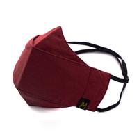 Masker Hijab 3 ply | Masker Headloop Kain Polos Warna Pastel model Evo