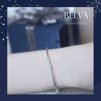 Gelang Berlian Bangle - Listring - Belva Jewellery - BABGCE01792