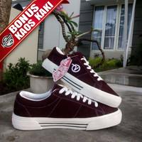 Sepatu Vans SID DX Anaheim Factory Maroon Premium BNIB || Termurahh. - 39