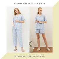 Baju Tidur Piyama Wanita Organic Silk Greet T-082