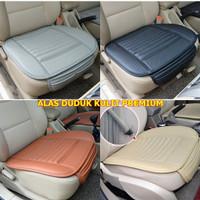 PREMIUM TEBAL SINGLE SEAT / 1pc untuk Supir Alas Duduk Jok Mobil KULIT