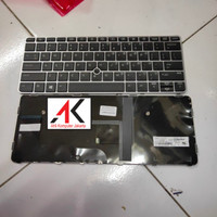 Keyboard HP EliteBook 725 G4 820 G3 820 G4 725 G3 tanpa lampu latar