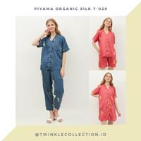 Baju Tidur Piyama Organic SIlk Greet T-029