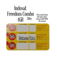 Voucher Paket Data Indosat Freedom 4GB