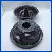 Loyang Kue Bolu Tulban Marmer Chiffon Import Model MAWAR