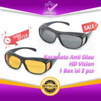 Kacamata Anti Silau / HD Vision 1 Box isi 2 pcs